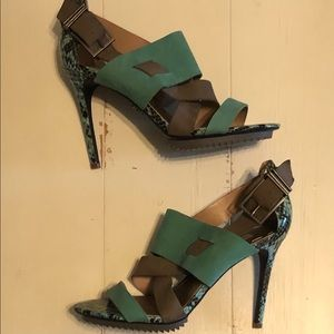 Rachel Roy Zahira snakeskin heels